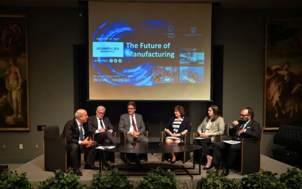 симпозиум The Future of Manufacturing: A Conversation with Italian Industry Leaders