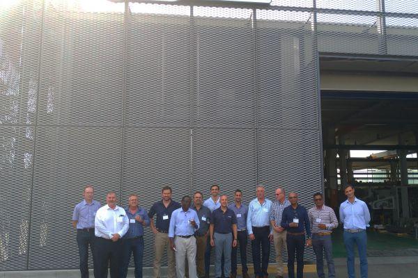 Visita della delegazione sudafricana presso Ferraro SpA